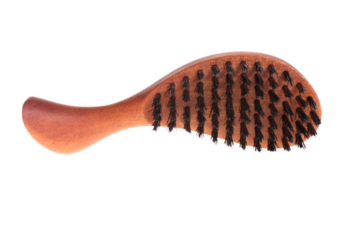Boar bristle hair brush - Pocket - WildGood