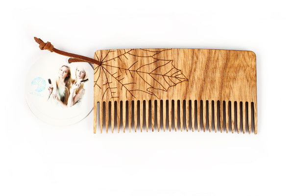 Ecological wooden comb - Maple