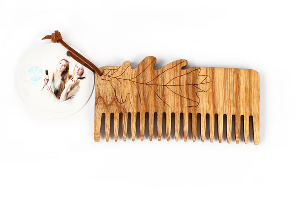 Eco wooden comb - Oak - WildGood
