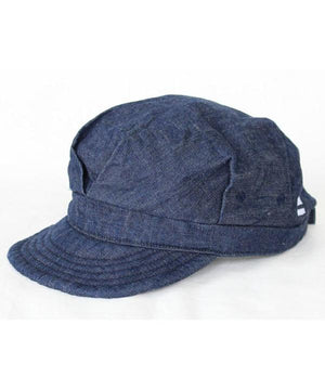 MOMOTARO 'RAIL-ROADER' 10OZ DENIM CAP