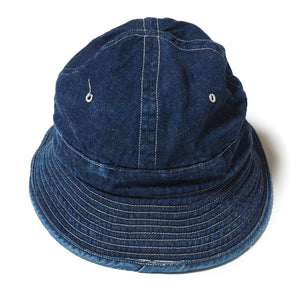 Warehouse Co. 14oz Denim Army Hat (Washed)