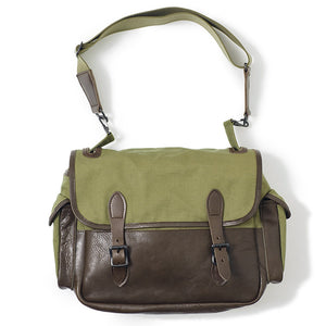 Warehouse Canvas & Cowhide Field Bag