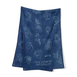 Stevenson Overall Co. 'Tattoo' Flash Scarves
