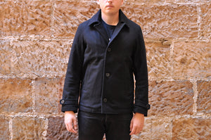 Momotaro Wool Short Pea Coat