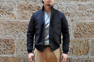 Freewheelers Heavy Wool Melton A-1 Civilian Jacket