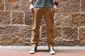 STEVENSON OVERALL CO. 'COLTS' MILITARY CHINOS (CAMEL)