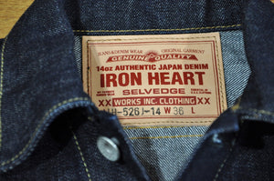Iron Heart 14oz 'Type 3' Denim Jacket