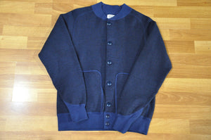 Stevenson Overall Wool/Cotton Athletic Jacket (Navy)