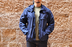 Blue Blue Japan Indigo Dyed Nylon Windbreaker