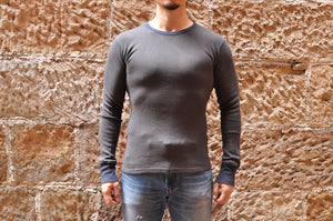 Samurai Heavy Thermal Shirt (Charcoal)