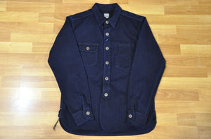 Momotaro 10oz Indigo HBT Early Workshirt