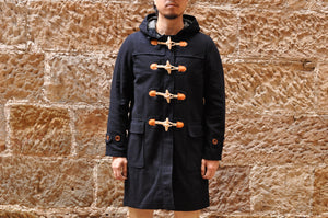 FREEWHEELERS 'CAPOTE' WOOL DUFFLE COAT