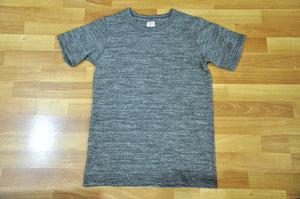 Full Count 8oz Super Slow Loopwheeled Pocket Tee (Heather Gray)