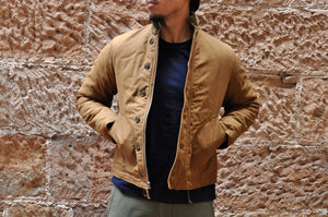 FREEWHEELERS N-1 SHORT DECK JACKET (DESERT)