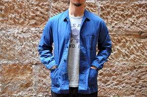 Momotaro Lightweight Natural Indigo Coverall jacket