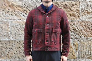 "Freewheelers ""Wigwam"" Tweed Racer Jacket"