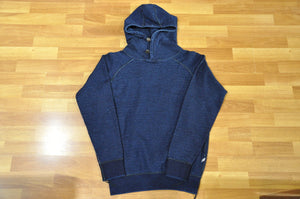 Pure Blue Japan Indigo Hooded Parka