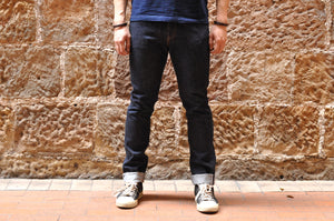 FULL COUNT 1110W 13.7OZ DENIMS (SLIM TAPERED FIT)