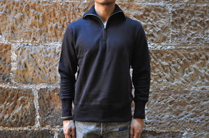 Freewheelers 11oz Loopwheel Qaurter Zip Sweater