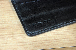 The Flat Head full grain cowhide welted card case