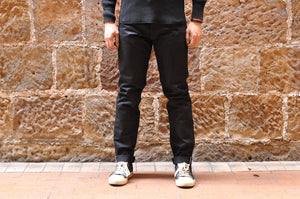 Lewis Leathers 15oz Black Denims (Relaxed Tapered Fit)