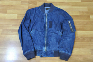 Stevenson Overall denim flight jacket 4 years in use