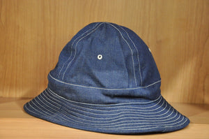 Warehouse 14oz Denim Army Hat
