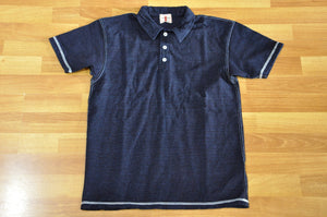 Samurai 8oz Indigo Dyed Polo