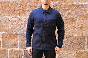 JAPAN BLUE 12OZ INDIGO SASHIKO COVERALL