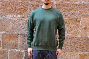 "Warehouse 10oz ""Standard"" Loopwheeled Sweatshirt (Green)"
