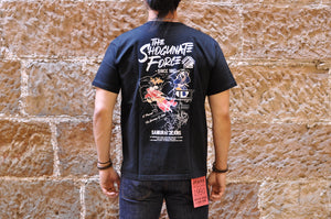 SAMURAI 6.7OZ 'IKEDAYA INCIDENT' LOOPWHEEL TEE (BLACK)