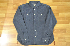 Samurai 11oz Indigo Hickory Workshirt