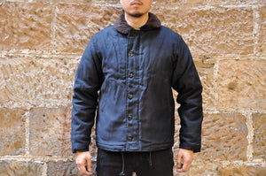 FREEWHEELERS N-1 1940S NAVAL DECK JACKET