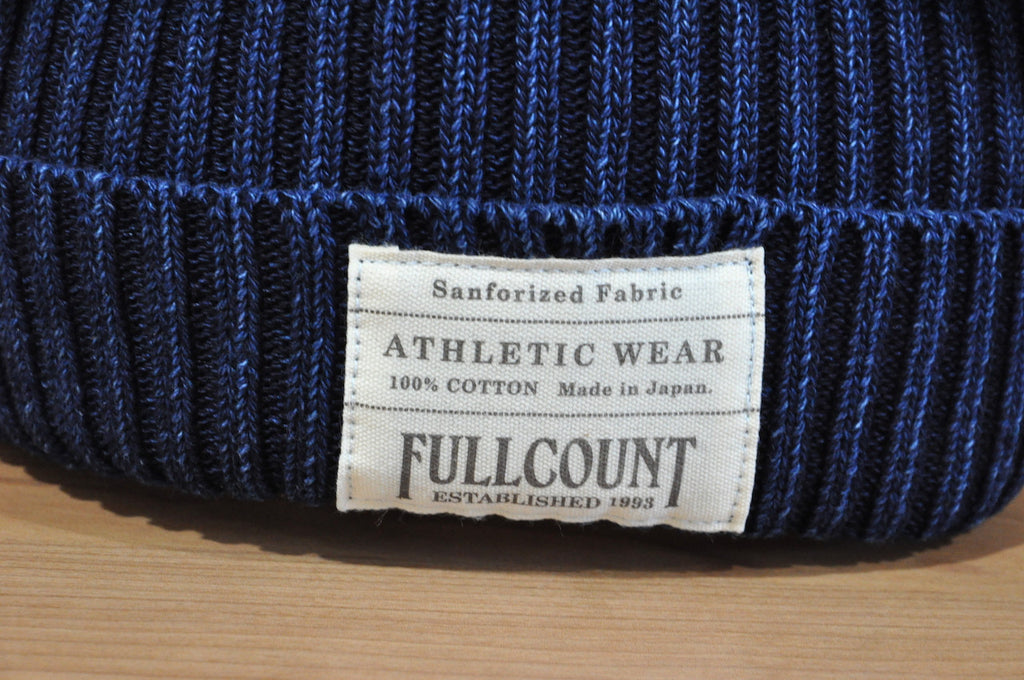 Full Count Indigo Cotton Watch Cap