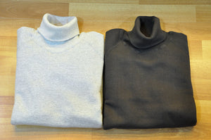 Double Works by Warehouse 9oz Loopwheel Turtle neck Sweatshirts