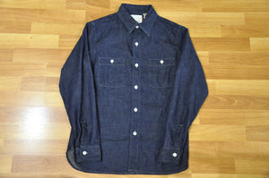 Full Count 8oz Denim USN Workshirt