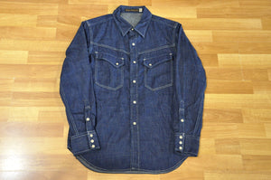 Full Count 10oz Denim Western Shirt