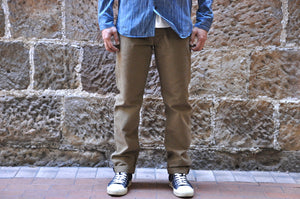 Stevenson Overall Co 'Gambler' 12.5oz Duck Chinos (Straight Tapered fit)