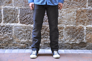 Stevenson Overall Co 'Gambler' 12oz Covert Twills Chinos (Straight Tapered fit)