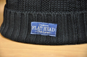 "The Flat Head ""Cable Knit"" Cotton Beanies"