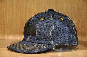 Samurai 17oz Denim Baseball Cap