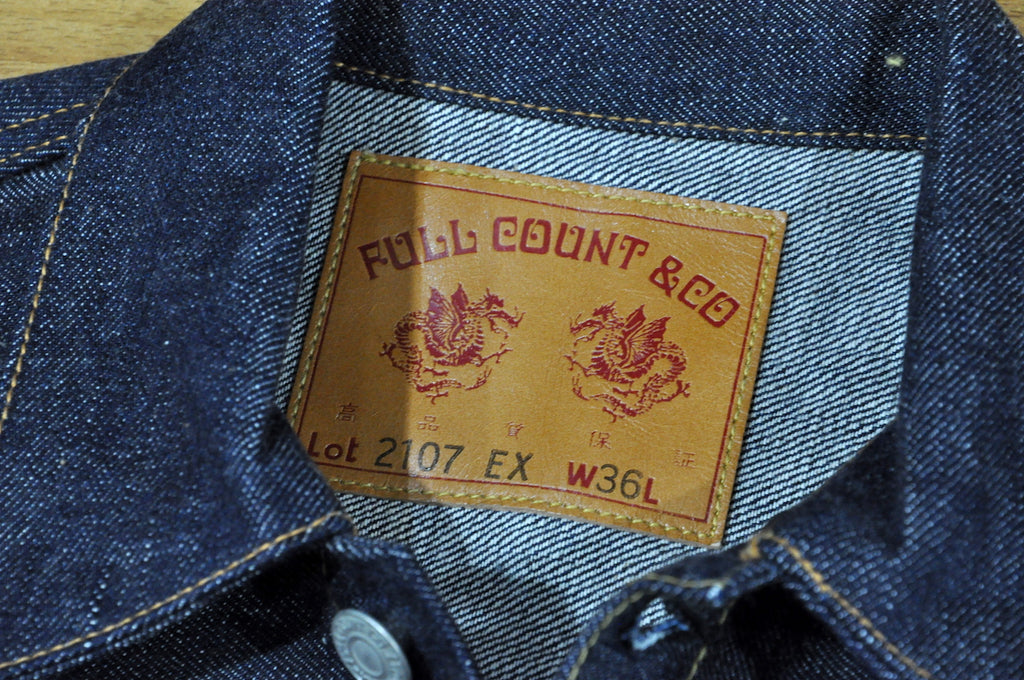 Full Count 25th Anniversary Type 1 denim jacket