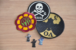 Freewheelers Silk/Cotton Embroidery Patches