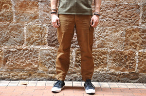 "Freewheelers15oz Duck Canvas ""Aviator"" Trousers (Relax Tapered Fit)"