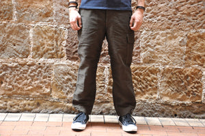 "Freewheelers 14oz Moleskin ""Aviator"" Trousers (Relax Tapered Fit)"