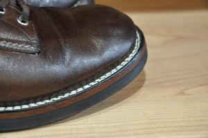 The Flat Head Horsehide Oxford Shoes 5 Months In Use