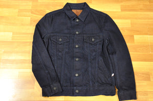 Pure Blue Japan 18oz Double Indigo Type 3 Denim Jacket