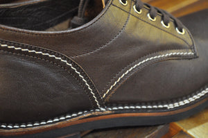 The Flat Head Horsehide Oxford Shoes