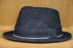 Samurai 17oz denim Trilby Hat