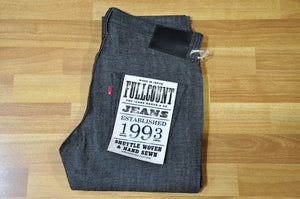 Full Count 1952 Black Denims (Stretch Skinny fit)